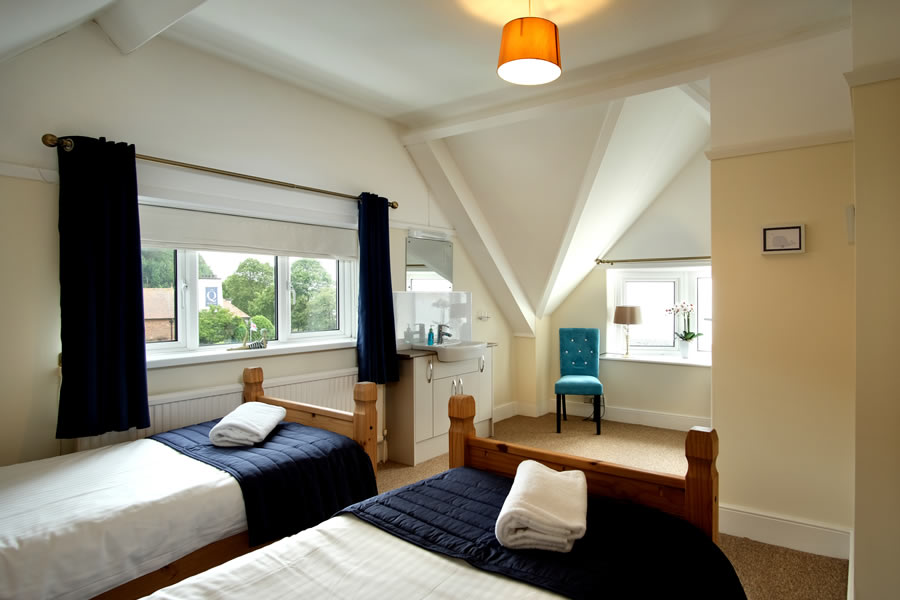 Penthouse Self Catering Twin Bedroom